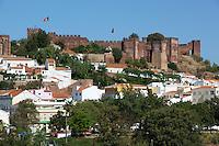 Portugal, Algarve, Silves: Castelo dos Mouros - Moorish Fortaleza