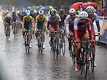 The Welsh team in the pac during the men's Road race<br /> <br /> Photographer Ian Cook/Sportingwales<br /> <br /> 20th Commonwealth Games - Day 11 - Sunday 3rd August 2014 - Road Race - Glasgow - UK