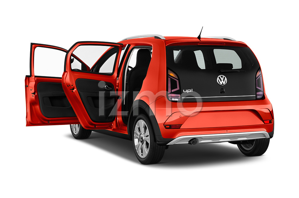 Car images close up view of a 2018 Volkswagen Up Cross Up 5 Door Hatchback doors