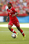 Kadeisha Buchanan (CAN), JUNE 21, 2015 - Football / Soccer : <br /> FIFA Women's World Cup Canada 2015 Round of 16 match between Canada 1-0 Switzerland at BC Place Stadium, <br /> Vancouver, Canada. (Photo by Yusuke Nakansihi/AFLO SPORT)