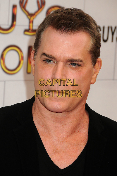 "Ray Liotta.Spike TV's 6th Annual ""Guys Choice"" Awards held at Sony Pictures Studios, Culver City, California, USA, .2nd June 2012..portrait headshot black v-neck .CAP/ADM/BP.©Byron Purvis/AdMedia/Capital Pictures."