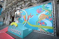 2016.12.14 UEFA EURO2020 BRUSSELS LOGO LAUNCH