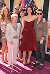 HOLLYWOOD, CA - JUNE 26: Katy Perry and family arrive at 'Katy Perry: Part Of Me' Los Angeles Premiere at Grauman's Chinese Theatre on June 26, 2012 in Hollywood, California.