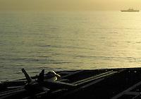 Launching aircraft at USS Peleliu aboard USS Abraham Lincoln.