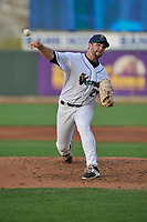 Cedar Rapids Kernels pitcher Randy Dobnak (26) throws a pitch against the West Michigan Whitecaps at Veterans Memorial Stadium on May 5, 2018 in Cedar Rapids, Iowa.  (Dennis Hubbard/Four Seam Images)