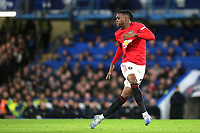 Aaron Wan-Bissaka of Manchester United during Chelsea vs Manchester United, Premier League Football at Stamford Bridge on 17th February 2020