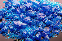 CUPRIC SULFATE PENTAHYDRATE CRYSTALS<br /> CuSO4*5H2O (Copper II Sulfate)<br /> Large transparent blue triclinic crystal, &quot;Bluestone&quot;