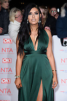 Cara De La Hoyde at the National Television Awards 2018 at the O2 Arena, Greenwich, London, UK. <br /> 23 January  2018<br /> Picture: Steve Vas/Featureflash/SilverHub 0208 004 5359 sales@silverhubmedia.com