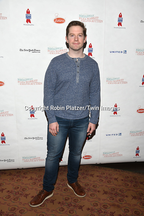 Rory O'Malley attends the Broadway Cares/Equity Fights Aids Flea Market and Grand Auction on September 25, 2016 at the Music Box Theatre and in Shubert Ally in New York, New York, USA. <br /> <br /> photo by Robin Platzer/Twin Images<br />  <br /> phone number 212-935-0770