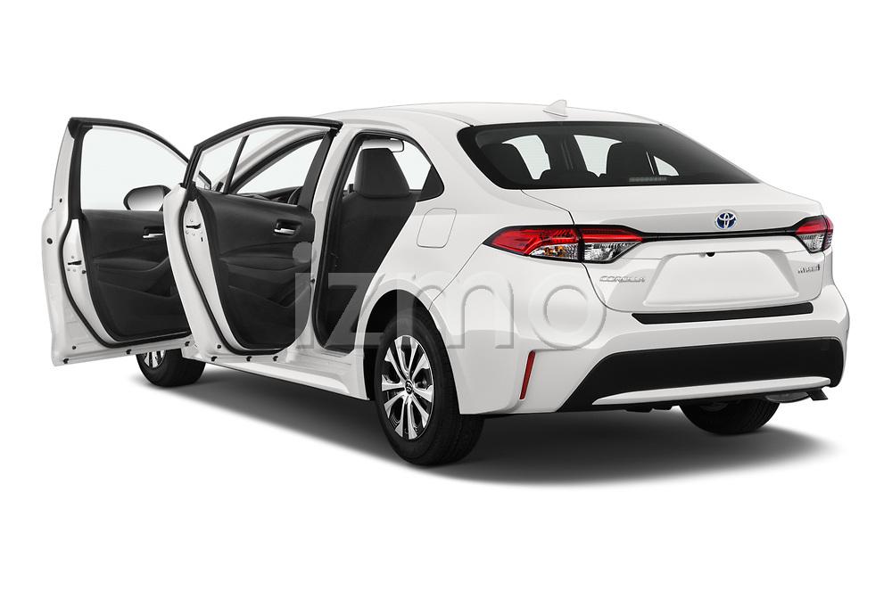 Car images of 2020 Toyota Corolla-Hybrid LE 4 Door Sedan Doors