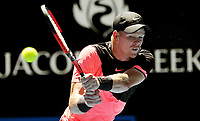 MELBOURNE,AUSTRALIA,23.JAN.18 - TENNIS - ATP World Tour, Grand Slam, Australian Open. Image shows Kyle Edmund (GBR). Photo: GEPA pictures/ Matthias Hauer / Copyright : explorer-media