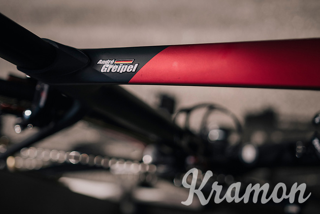 André Greipel's (DEU/Lotto-Soudal) bike<br /> <br /> Stage 5: Lorient > Quimper (203km)<br /> <br /> 105th Tour de France 2018<br /> ©kramon