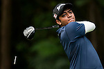 Ali Aanish Rehman of Pakistan in action during the 9th Faldo Series Asia Grand Final 2014 golf tournament on March 19, 2015 at Faldo course in Mid Valley clubhouse in Shenzhen, China. Photo by Xaume Olleros / Power Sport Images