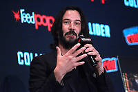 NEW YORK, NY - OCTOBER 5: Keanu Reeves discusses &quot;Replicas&quot; during the 2017 New York Comic Con on October 5, 2017 in New York City. <br /> CAP/MPI99<br /> &copy;MPI99/Capital Pictures