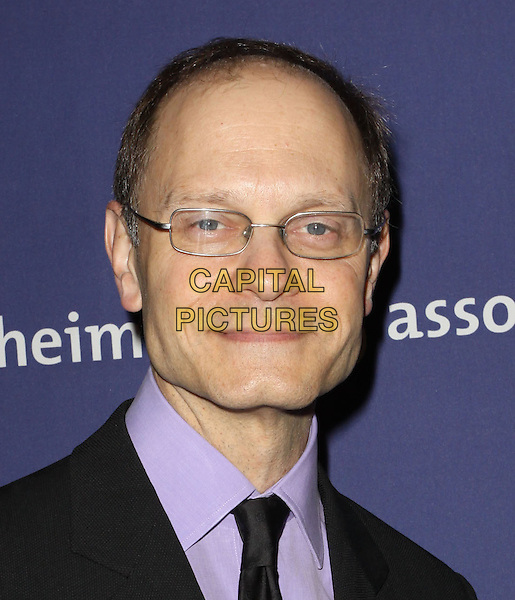 "DAVID HYDE PIERCE.18Th Annual ""A Night at Sardi's"" Benefitting The Alzheimer's Association held At The Beverly Hilton Hotel, Beverly Hills, California, USA..March 18th, 2010.headshot portrait black purple glasses .CAP/ADM/KB.©Kevan Brooks/AdMedia/Capital Pictures."
