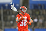 29 April 2016: Syracuse's Tom Grimm. The University of North Carolina Tar Heels played the Syracuse University Orange at Fifth Third Bank Stadium in Kennesaw, Georgia in a 2016 Atlantic Coast Conference Men's Lacrosse Tournament semifinal match.