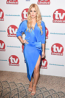 Amanda Clapham<br /> arriving for the TV Choice Awards 2017 at The Dorchester Hotel, London. <br /> <br /> <br /> &copy;Ash Knotek  D3303  04/09/2017
