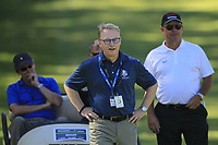 Keith Pelley (CEO European Tour) on the 1st during the Matchplay Final of the ISPS Handa World Super 6 Perth at Lake Karrinyup Country Club on the Sunday 11th February 2018.<br /> Picture:  Thos Caffrey / www.golffile.ie<br /> <br /> All photo usage must carry mandatory copyright credit (&copy; Golffile   Thos Caffrey)