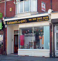 2017 03 17 Catwell Charity shop, Cardiff, UK