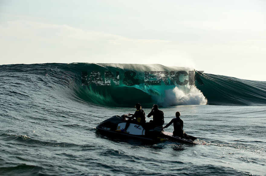 Mitch Rawlins, James and Jake Stoner at Cyclop in Esperance, Western Australia.