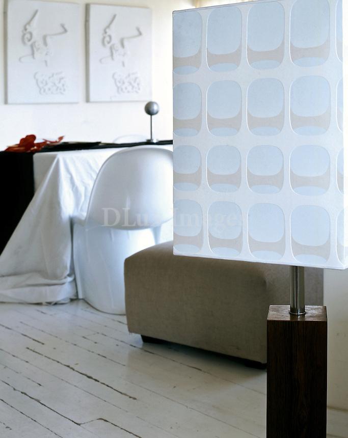 minimal white dining room