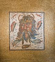 Medusa mosaic. 2nd  century Roman Mosaic from the Alcazar of Cordoba, Spain