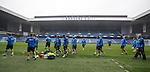 Rangers training at Ibrox Stadium