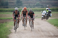 Wout Van Aert (BEL/Vastgoedservice-Golden Palace) has set his mind on this (revamped) race as he tries to catch the race leaders<br /> <br /> 90th Schaal Sels 2015