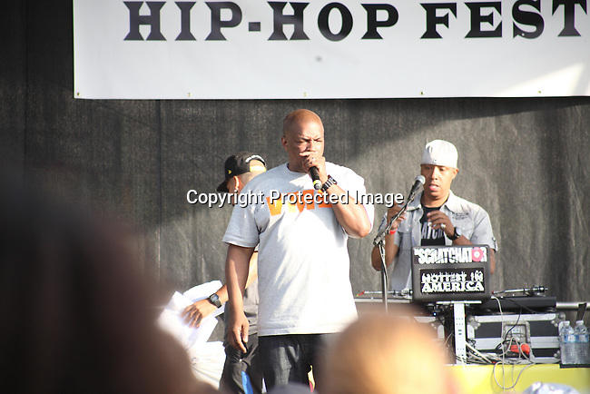"""Host Video Music Box's Ralph McDaniels at the Final Day of 2012 Brooklyn Festival """"Busta Rhymes & Friends"""" Held at the Brooklyn Bridge Park, NY 7/14/12"""
