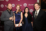 Josh Kight, Shana Farr, Shana Grossman and Charles Busch attends the 2016 Helen Hayes Award Dinner honoring Barbara Cook at The Players Club on November 17, 2016 in New York City.