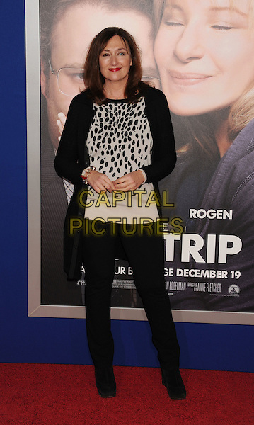 "Nora Dunn.""The Guilt Trip"" Los Angeles Premiere held at the Regency Village Theatre, Westwood, California, USA..December 11th, 2012.full length black white trousers top print pattern .CAP/ROT/TM.©Tony Michaels/Roth Stock/Capital Pictures"