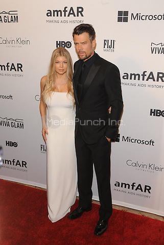New York,NY- June 10: Fergie Duhamel, Josh Duhamel attends the amfAR Inspiration Gala at The Plaza Hotel In New York City on June 10, 2014 . Credit: John Palmer/MediaPunch