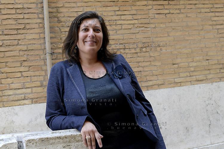 Roma, 1 Giugno 2015<br /> Valeria Ciarambino candidata M5S alla Presidenza della Regione Campania.<br /> Laricchia.