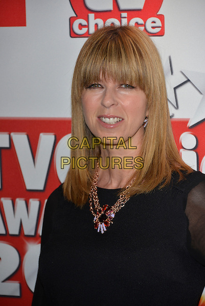 Kate Garraway <br /> The TV Choice Awards 2013 at the Dorchester Hotel, London, England.<br /> 9th September 2013<br /> headshot portrait necklace black <br /> CAP/PL<br /> &copy;Phil Loftus/Capital Pictures