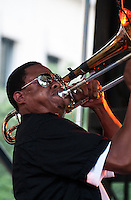 The Soul Rebels Brass Band and Galactic close out the 2010 Lafayette Square concert series in New Orleans.