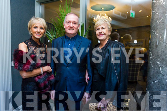 At the Austin Stacks Centenary Gala Dinner in the Rose Hotel on Saturday were Maria Mansfield, Michael O'Shea, Marie O'Shea