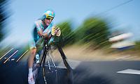 Enrico Gasparotto (ITA)<br /> <br /> Tour de France 2013<br /> stage 11: iTT Avranches - Mont Saint-Michel <br /> 33km