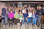 SURPRISE BIRTHDAY: Ed Delaney, Shanakill, Tralee (seated 4th left) got a big surprise when family and friends gathered to celebrate his 30th birthday at Kirby's Brogue Inn, Tralee on Friday.