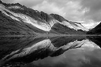 Loch Achtriochtan and the Aonach Eagach, Glencoe, Highland