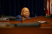 United States Representative Elijah Cummings (Democrat of Maryland) speaks during the Committee on Oversight and Reform hearing on Capitol Hill in Washington D.C., U.S. to markup a resolution recommending that the House of Representatives find the Attorney General and the Secretary of Commerce in contempt of Congress on June 12, 2019.<br /> <br /> Credit: Stefani Reynolds / CNP
