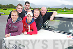 Pictured at the launch of the Killarney Historics Rally in the Killarney Racecourse on Saturday evening were Kevin Flannery, Clerk of the Course, Martin O'Riordan, Joe McCarthy, Gary McCormick, Johnny Hickey and Darren McCormick. ..........................................................................