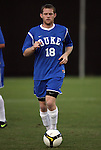 11 October 2009: Duke's Josh Bienenfeld. The Duke University Blue Devils defeated the University of North Carolina Greensboro Spartans 3-0 at Koskinen Stadium in Durham, North Carolina in an NCAA Division I Men's college soccer game.