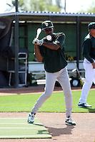 Ron Washington (coach) - Oakland Athletics 2016 spring training (Bill Mitchell)