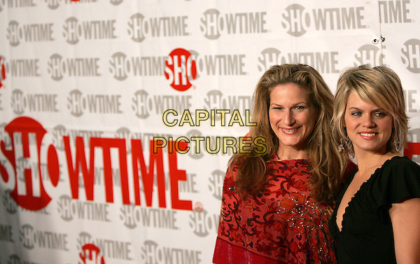 ANA GASTEYER & AMY SPANGER.ShowtimeÕs TCA Press Tour Party held at Stage 6 at Universal Studios in Universal City, California .January 12th, 2005.headshot, portrait.www.capitalpictures.com.sales@capitalpictures.com.Supplied By Capital PIctures