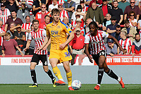 Lee Evans of Wigan Athletic in action during Brentford vs Wigan Athletic, Sky Bet EFL Championship Football at Griffin Park on 15th September 2018