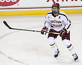 Patrick Wey (BC - 6) - The Boston College Eagles defeated the University of Vermont Catamounts 4-1 on Friday, February 1, 2013, at Kelley Rink in Conte Forum in Chestnut Hill, Massachusetts.