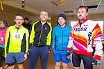 Noel Lawlor, John Cronin, Pa Cronin and Eamon Dalton enjoying the Puck Warriors Duathlon 5km run 15km cycle 5km run started at JP O Sullivan Park, Killorglin on Saturday