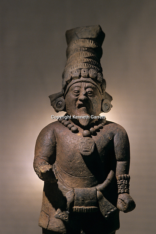 Figurine, Artifact from Aguateca, Maya capital AD 700 -800, Guatemala