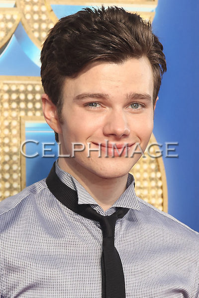 "CHRIS COLFER. World premiere of Twentieth Century Fox' ""Glee The 3D Concert Movie,"" at the Regency Village Theater in Westwood.  Los Angeles, CA USA. August 6, 2011. ©CelphImage"