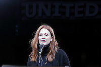 www.acepixs.com<br /> January 19, 2017  New York City<br /> <br /> Julianne Moore speaks during the We Stand United Rally outside Trump International Hotel &amp; Tower on January 19, 2017 in New York City.<br /> <br /> Credit: Kristin Callahan/ACE Pictures<br /> <br /> Tel: 646 769 0430<br /> Email: info@acepixs.com